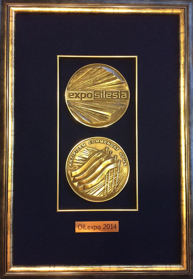 Gold Medal at OIL EXPO in category of Best Lubricants 2014